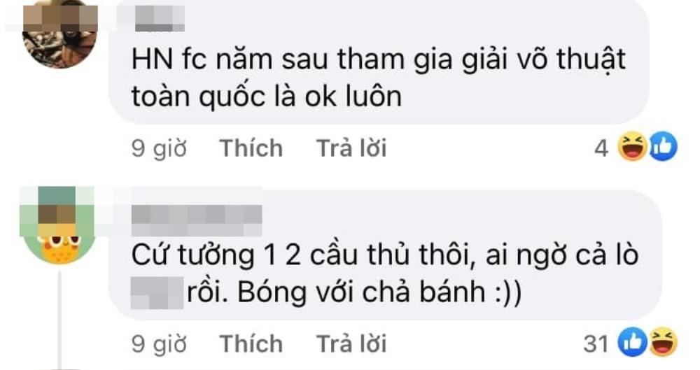 Liên tục chơi xấu, cầu thủ Hà Nội FC có xấu hổ trước nỗi đau của Hùng Dũng? Ảnh 4