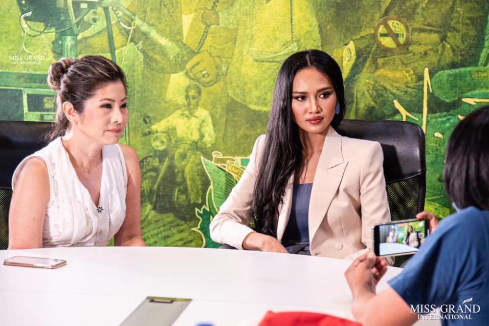 Đối thủ của á hậu Ngọc Thảo bị 'truy nã' sau phát ngôn nhạy cảm tại Miss Grand International Ảnh 7