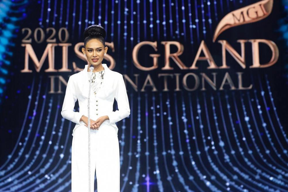 Đối thủ của á hậu Ngọc Thảo bị 'truy nã' sau phát ngôn nhạy cảm tại Miss Grand International Ảnh 2