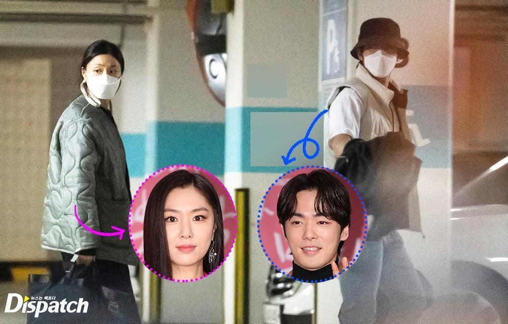Vừa phủ nhận, Dispatch vội tung ảnh hẹn hò của Seo Ji Hye và Kim Jung Hyun! Ảnh 1