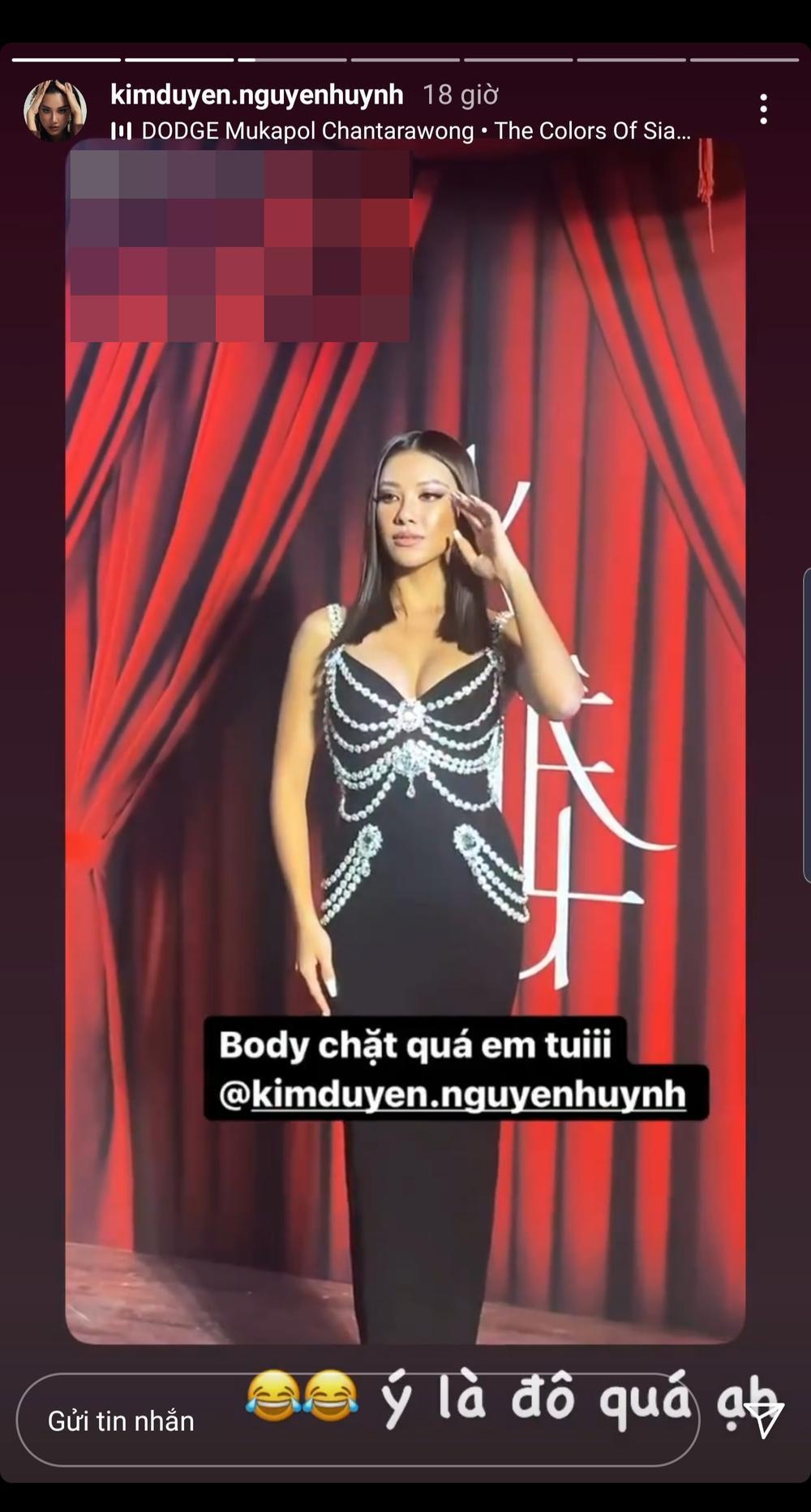 Phía Á hậu Kim Duyên phân trần khi bị soi mặc váy nhái Chanel đi sự kiện Ảnh 5