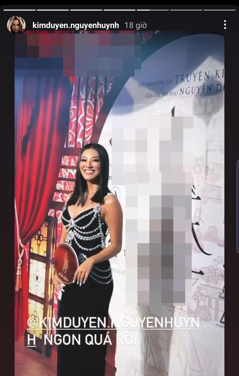 Phía Á hậu Kim Duyên phân trần khi bị soi mặc váy nhái Chanel đi sự kiện Ảnh 3