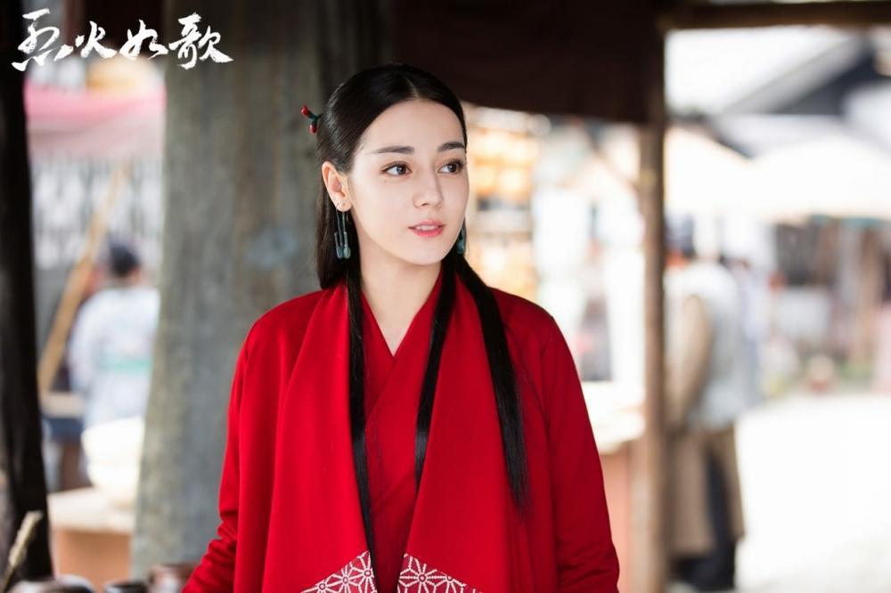 Địch Lệ Nhiệt Ba rất đẹp nhưng liệu có thích hợp đóng phim cổ trang? Ảnh 6