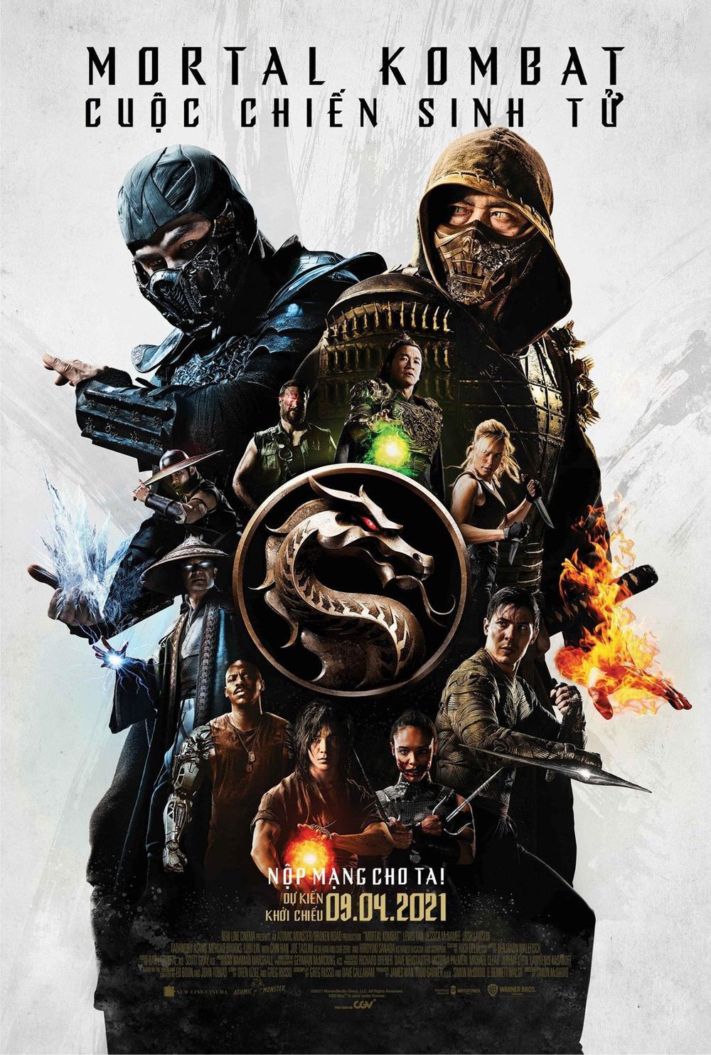Điểm danh loạt diễn viên tham gia Mortal Kombat bản điện ảnh: Toàn các ngôi sao hành động ấn tượng Ảnh 1