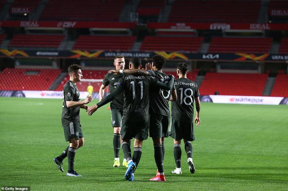 MU đặt một chân vào bán kết Europa League Ảnh 1