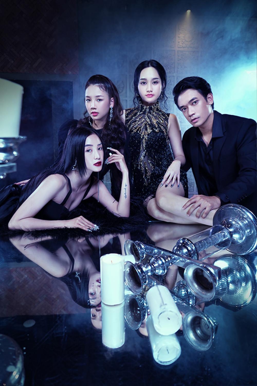 Hóa ra Victor Vũ mời Chi Pu tham gia 'Thiên thần hộ mệnh' để... hát nhạc phim? Ảnh 1