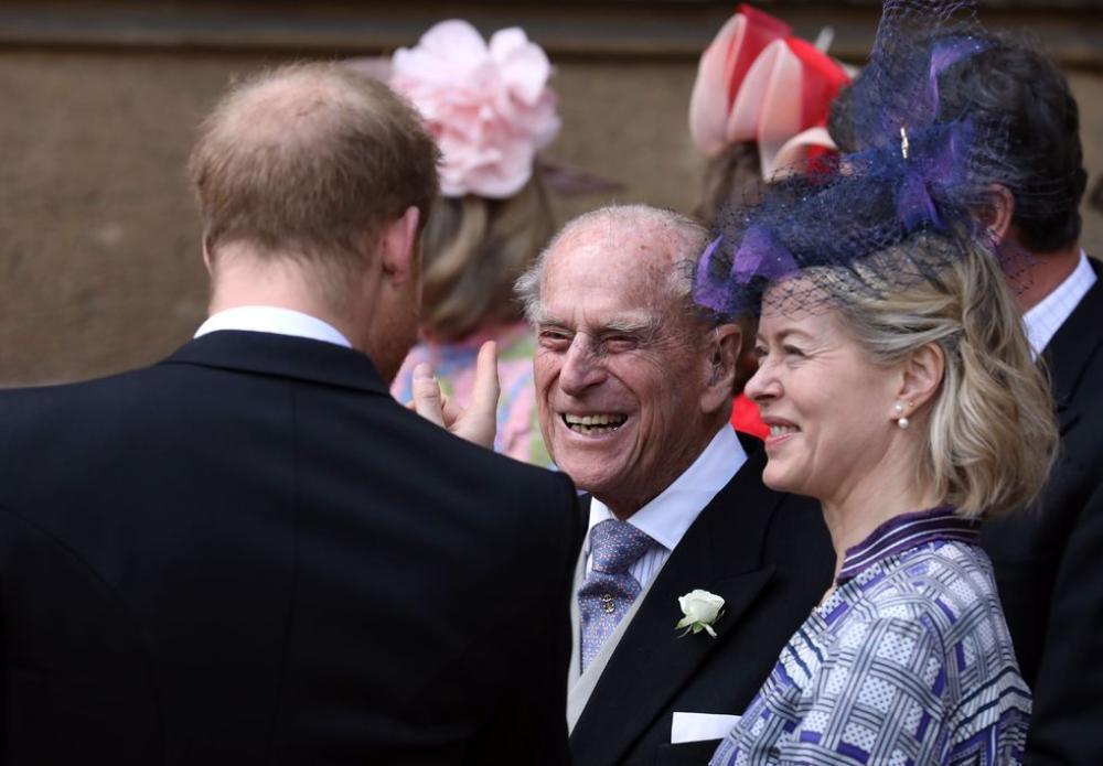 Những khoảnh khắc ngọt ngào nhất của Hoàng thân Philip và Hoàng tử Harry Ảnh 15