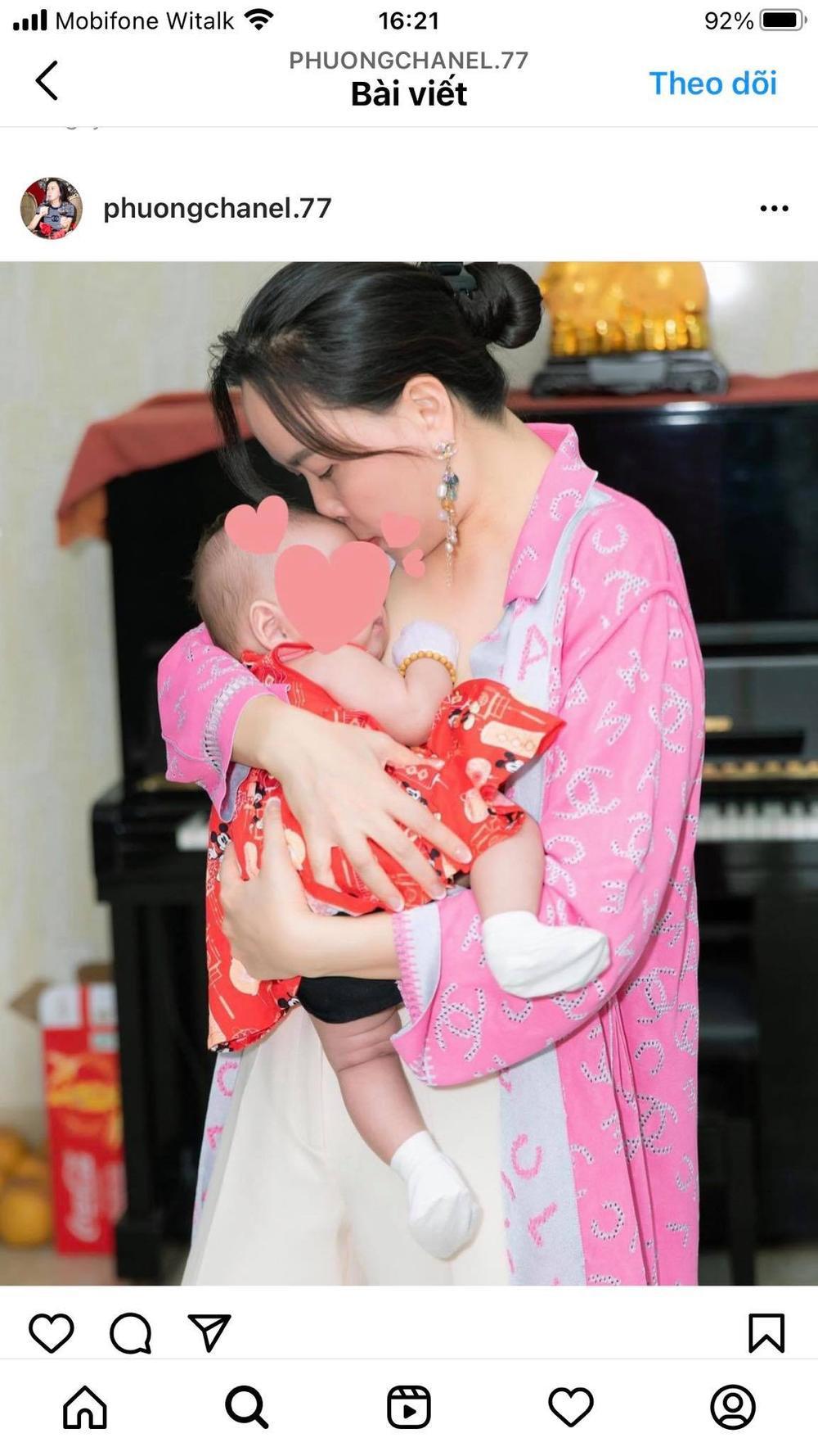 Phượng Chanel tiếp tục khoe con gái chung với Quách Ngọc Ngoan sau chia tay Ảnh 3