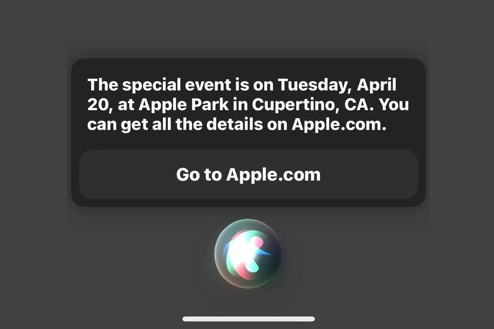 Siri 'vô tình' hé lộ về thời điểm diễn ra sự kiện mùa xuân của Apple Ảnh 2