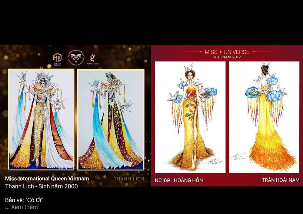 Thiết kế trang phục dân tộc cho Trân Đài bị tố 'ăn cắp': Thí sinh trộm bản vẽ từ Miss Universe Vietnam? Ảnh 6