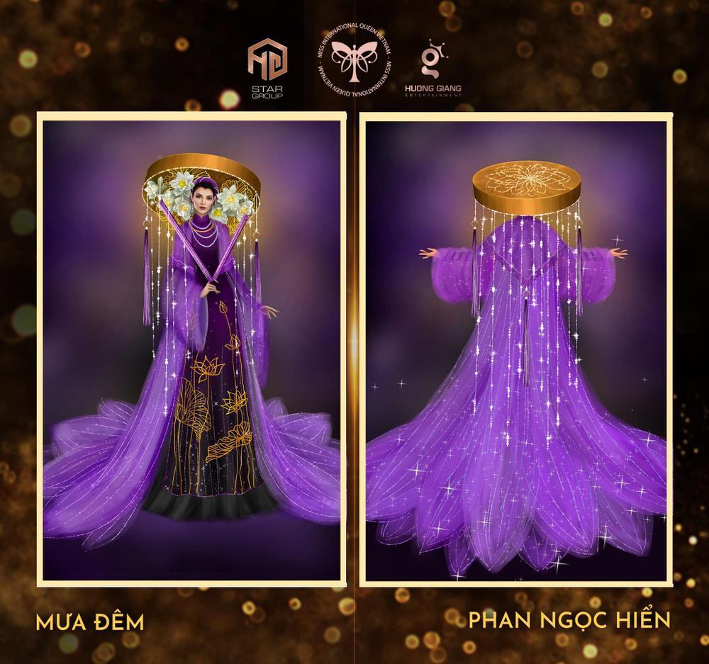 Thiết kế trang phục dân tộc cho Trân Đài bị tố 'ăn cắp': Thí sinh trộm bản vẽ từ Miss Universe Vietnam? Ảnh 10