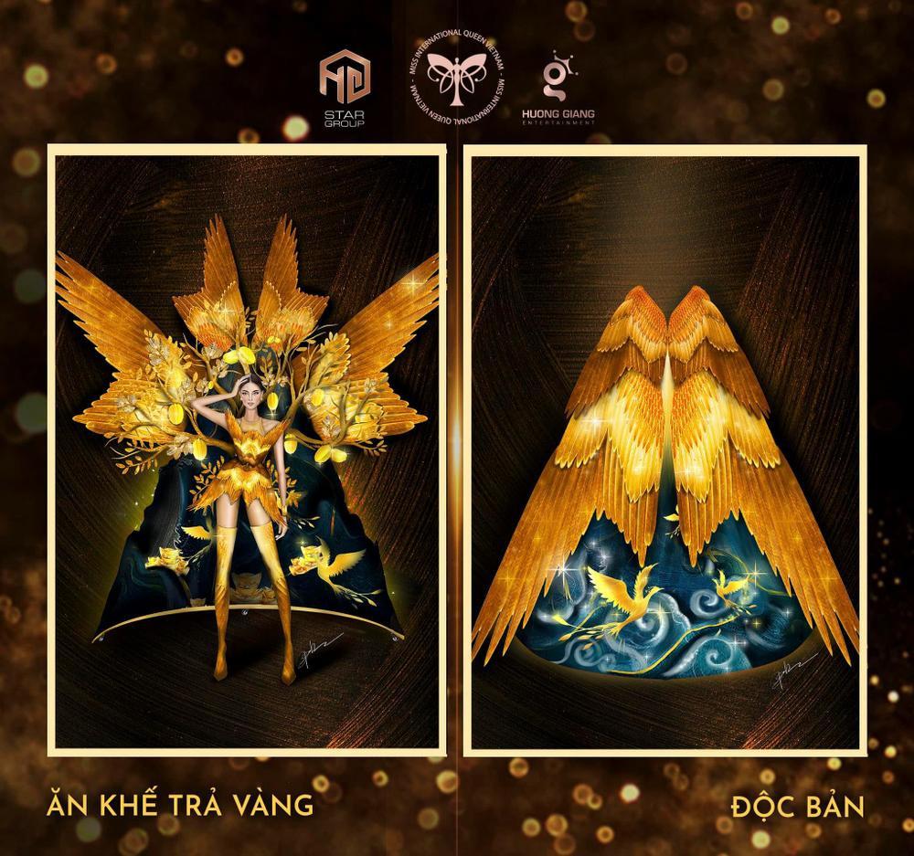 Thiết kế trang phục dân tộc cho Trân Đài bị tố 'ăn cắp': Thí sinh trộm bản vẽ từ Miss Universe Vietnam? Ảnh 8