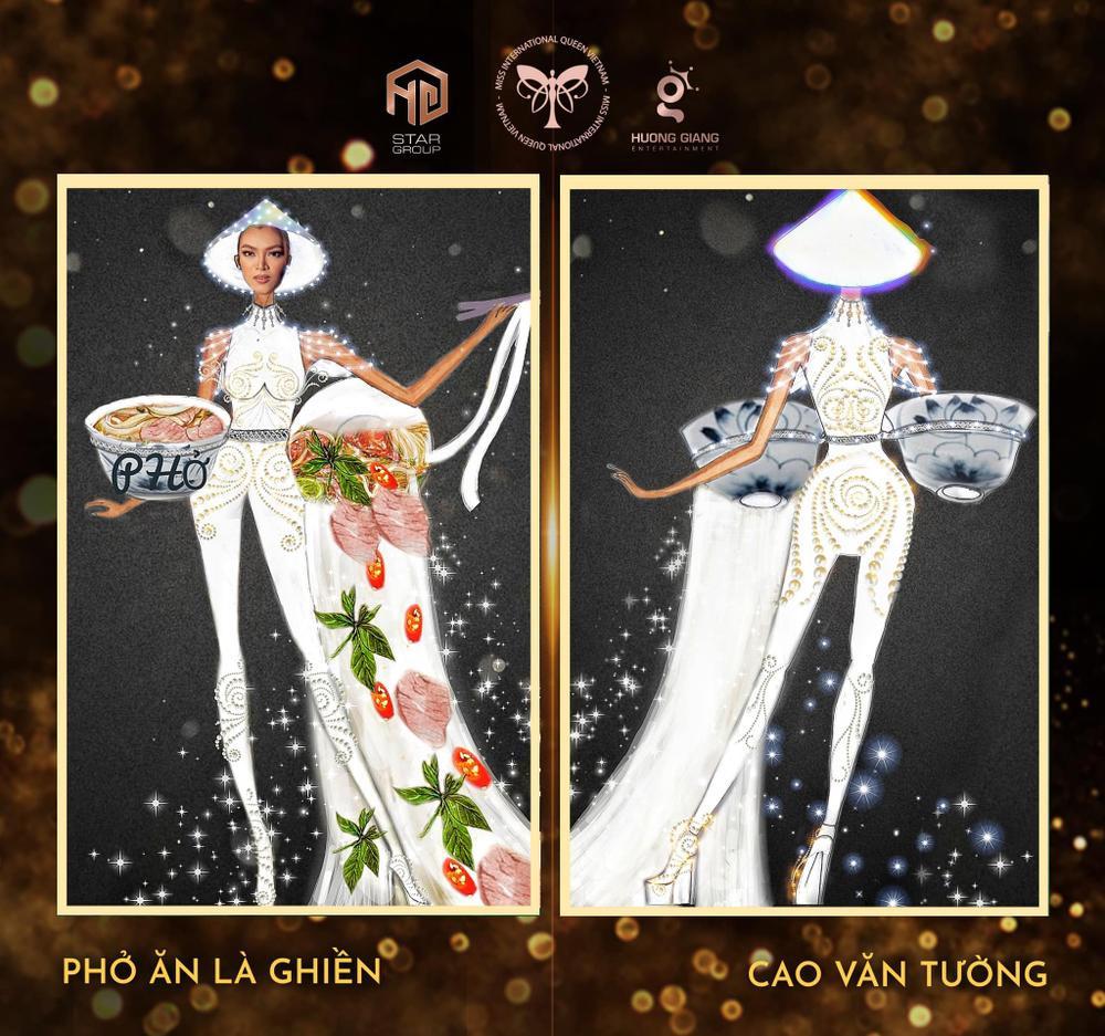 Thiết kế trang phục dân tộc cho Trân Đài bị tố 'ăn cắp': Thí sinh trộm bản vẽ từ Miss Universe Vietnam? Ảnh 11