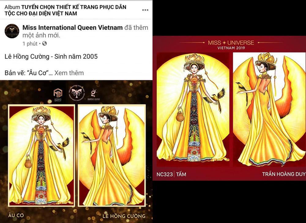 Thiết kế trang phục dân tộc cho Trân Đài bị tố 'ăn cắp': Thí sinh trộm bản vẽ từ Miss Universe Vietnam? Ảnh 7