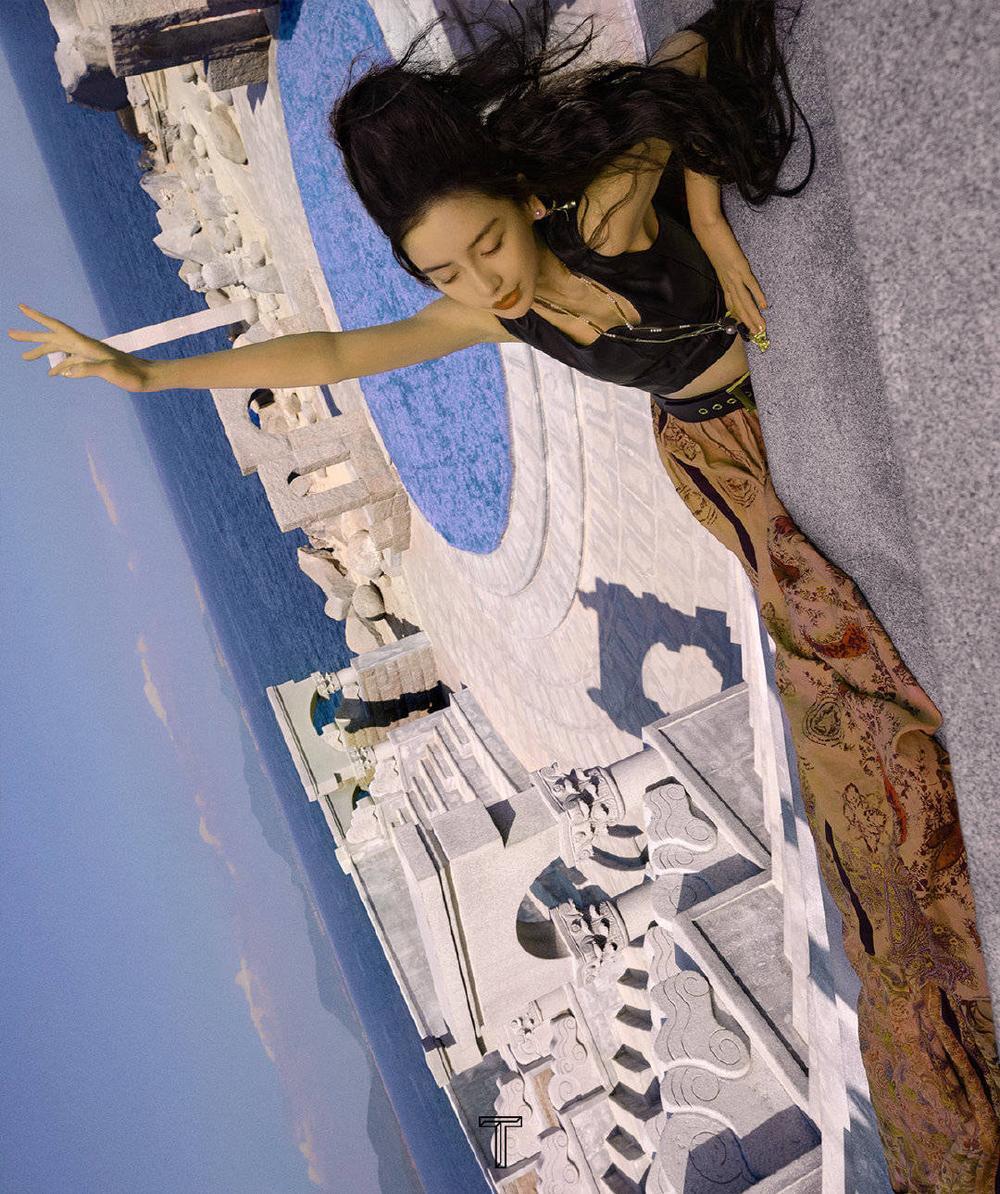 Angelababy hóa cô 'phù thủy hắc ám' xinh đẹp và ma mị trên bìa tạp chí Ảnh 7