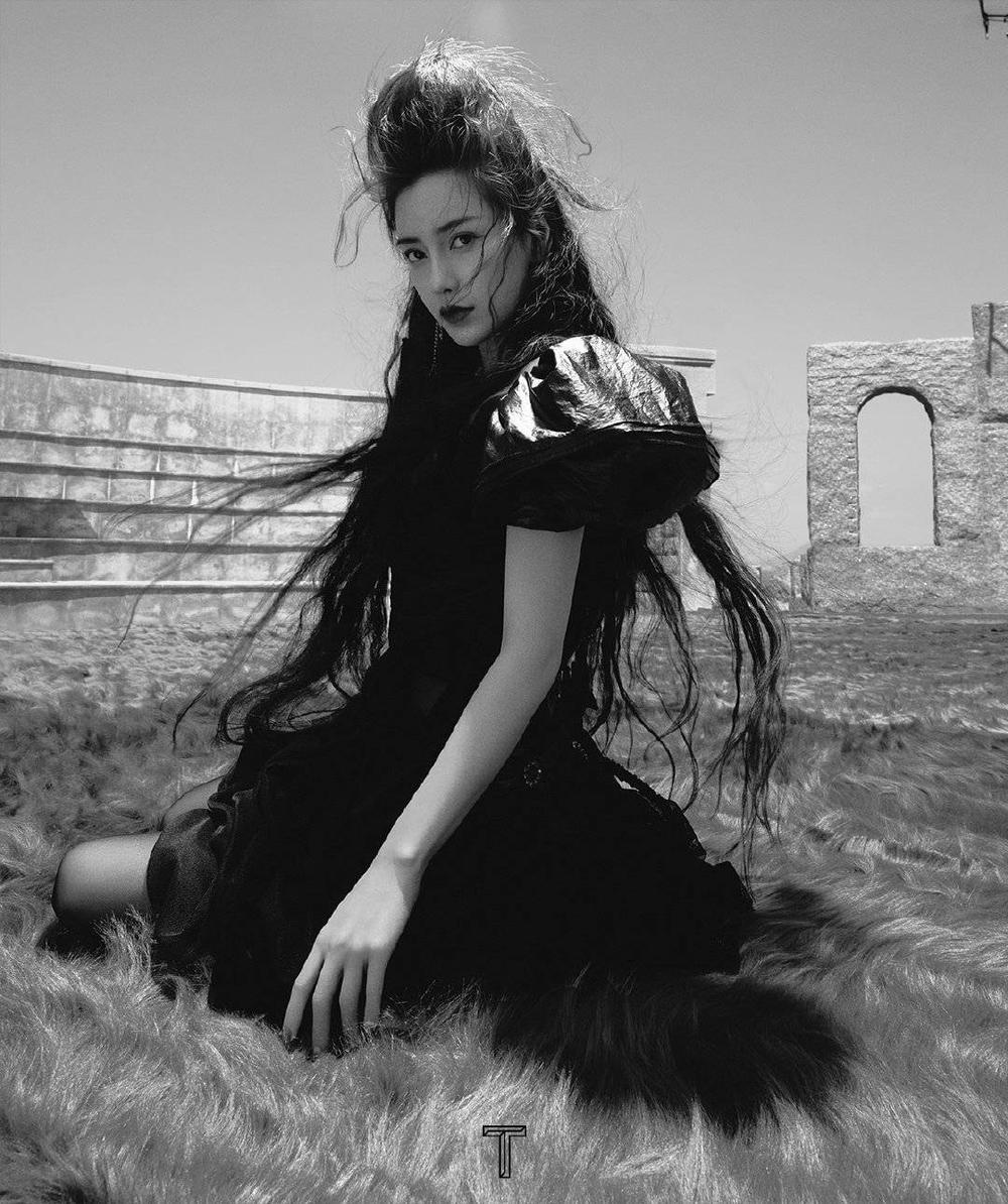Angelababy hóa cô 'phù thủy hắc ám' xinh đẹp và ma mị trên bìa tạp chí Ảnh 2
