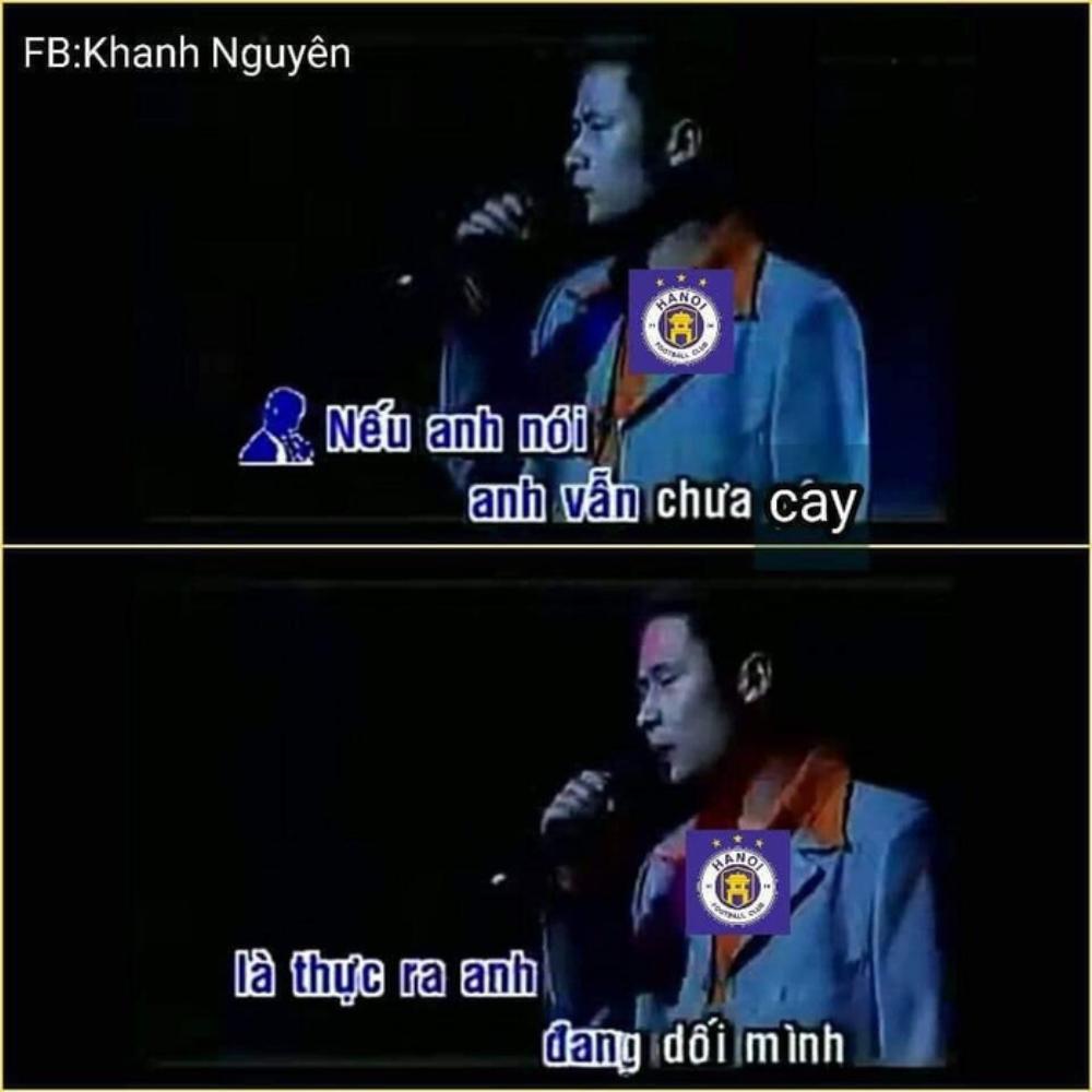 Fan HAGL chế ảnh cà khịa: 'Hà Nội FC chỉ là... hổ nhồi bông' Ảnh 4