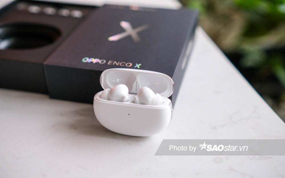 Trên tay tai nghe OPPO Enco X: Thiết kế ấn tượng, âm thanh Dynaudio, hỗ trợ chống ồn chủ động Ảnh 4