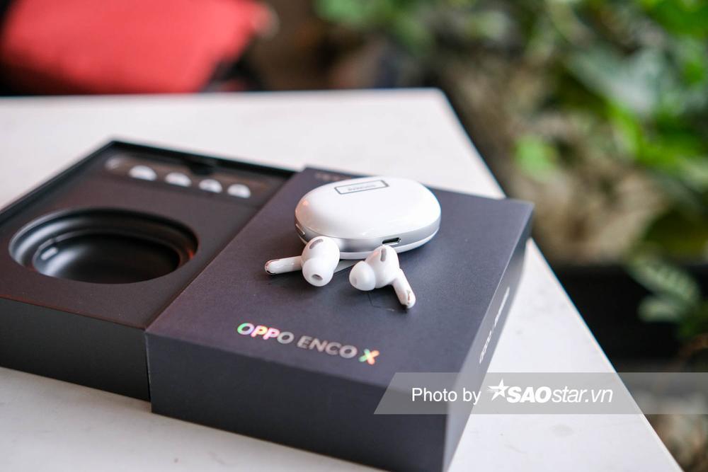 Trên tay tai nghe OPPO Enco X: Thiết kế ấn tượng, âm thanh Dynaudio, hỗ trợ chống ồn chủ động Ảnh 6