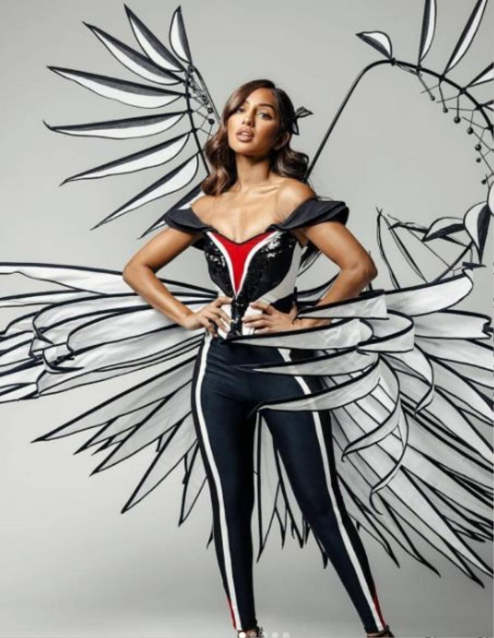 'Kén Em' lộ diện, fan khen National Costume của Khánh Vân tại Miss Universe không kém cạnh đối thủ nào Ảnh 7