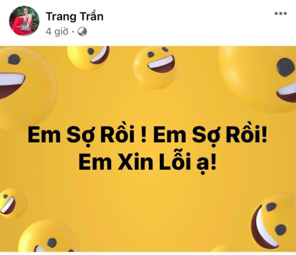 Phản ứng bất ngờ của Trang Trần sau màn 'khẩu chiến' gay gắt và tuyên bố dọa đánh của bà Phương Hằng Ảnh 2