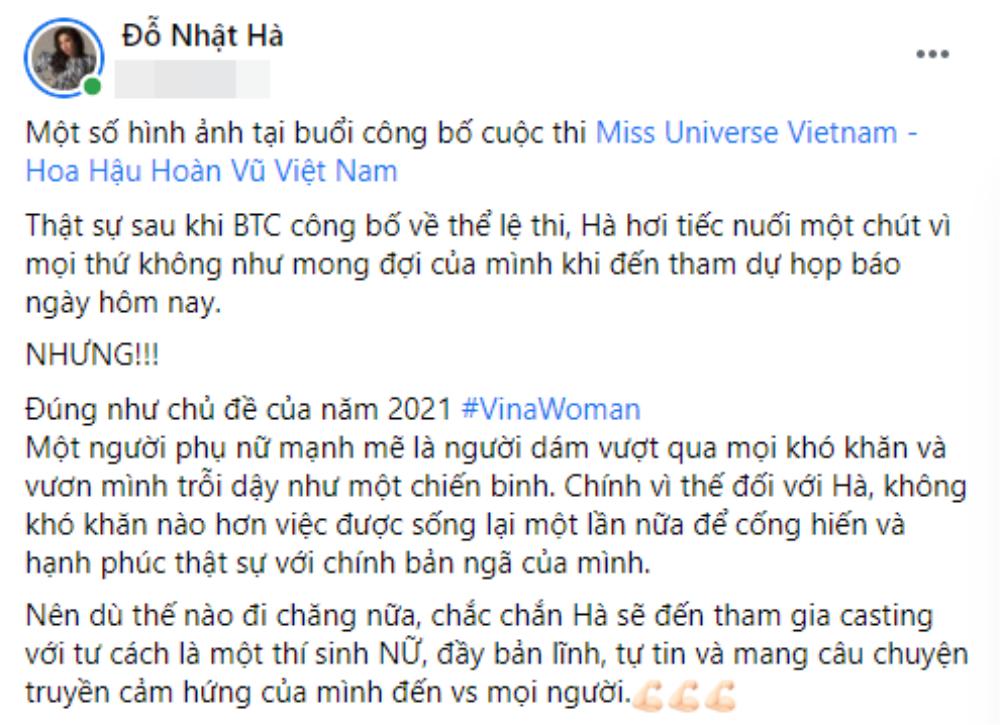 Miss Universe Vietnam thay đổi luật ở phút 89 bất lợi cho người chuyển giới: Đỗ Nhật Hà phân bua đầy ẩn ý Ảnh 7