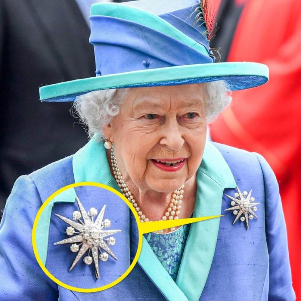 Bí ẩn tủ đồ Hoàng gia: Ý nghĩa hoa cài áo của phụ nữ Hoàng gia Anh Ảnh 11