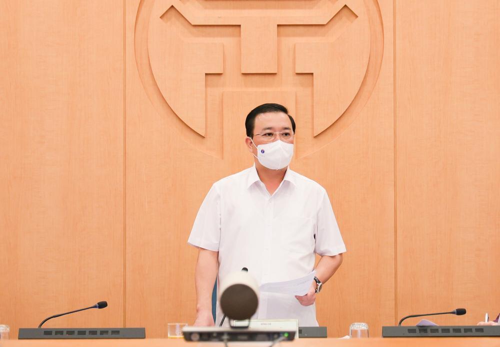 Phó Chủ tịch Hà Nội yêu cầu đẩy nhanh xét nghiệm, truy vết: 'Chậm giờ nào thì đuổi theo rất khó khăn' Ảnh 2