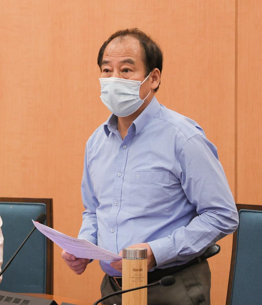 Phó Chủ tịch Hà Nội yêu cầu đẩy nhanh xét nghiệm, truy vết: 'Chậm giờ nào thì đuổi theo rất khó khăn' Ảnh 1