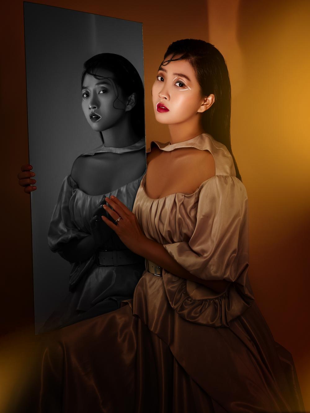 Liêu Hà Trinh đẹp ma mị, biến hoá hình ảnh trong bộ ảnh beauty ấn tượng Ảnh 14