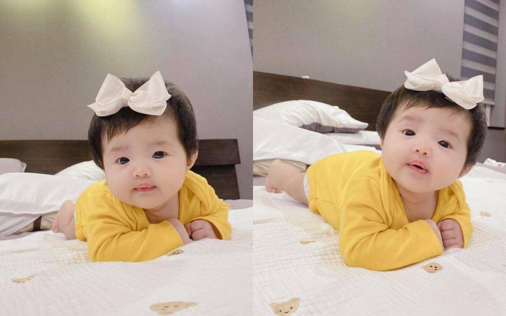 Con gái Đông Nhi càng lớn càng xinh, lấy hết gen đẹp tự nhiên từ bố mẹ Ảnh 9