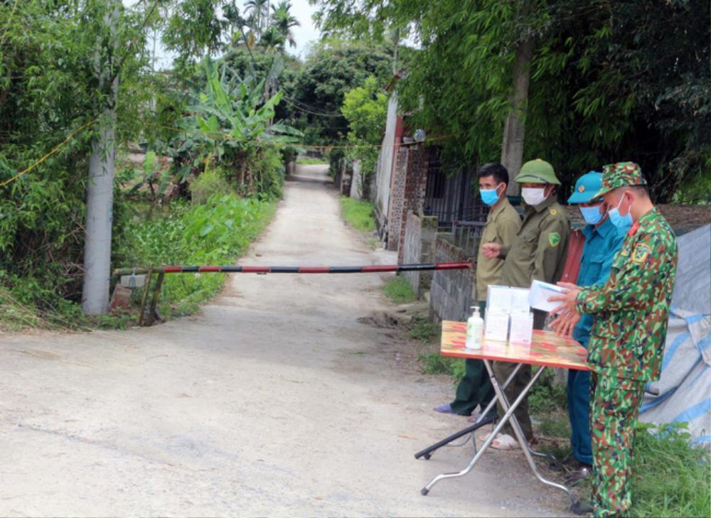 Hà Nam cách ly y tế thêm 2 thôn để phòng chống dịch COVID-19 Ảnh 1