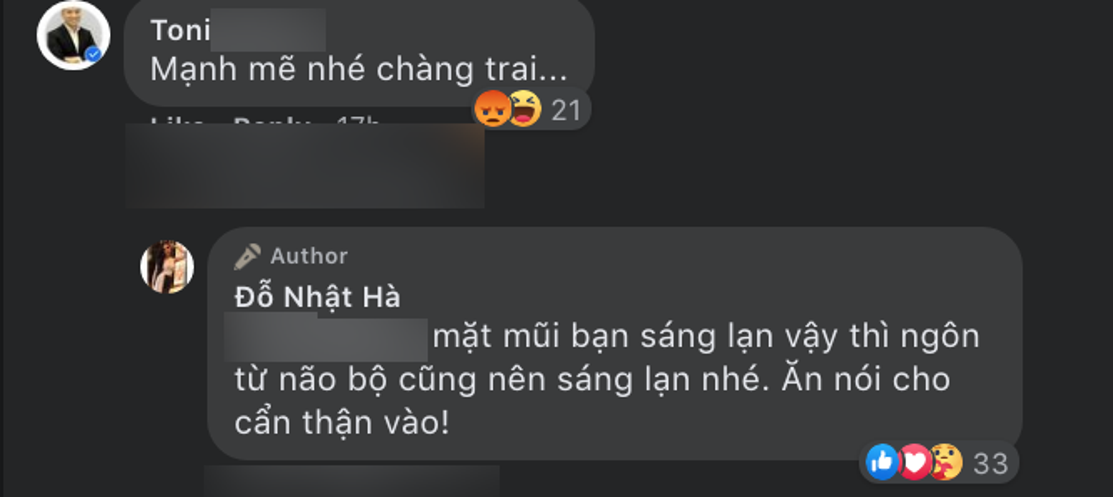 Người đẹp Chuyển giới Đỗ Nhật Hà đáp trả anti-fan khi bị gọi là 'chàng trai': 'Ăn nói cho cẩn thận vào' Ảnh 4