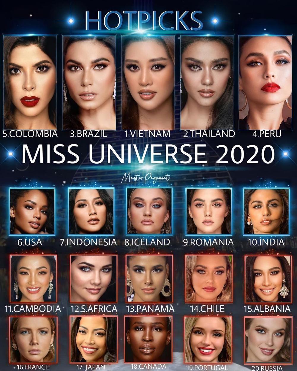 Đại diện Việt Nam vắng mặt trong Top 11 Super của Global Beauties: Fan chờ đợi Khánh Vân bùng nổ Ảnh 6
