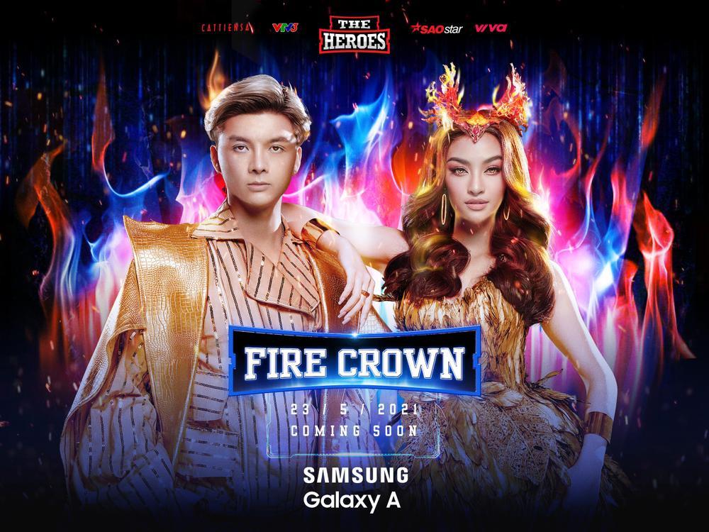 Lona Kiều Loan cùng Producer Kent Trần trở thành cặp đôi Nữ hoàng - Đế vương quyền lực tại The Heroes Ảnh 1