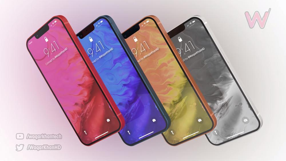 Mê mẩn với loạt iPhone 13 xanh - đỏ - tím - cam, camera xếp chéo đầy lạ lẫm Ảnh 5