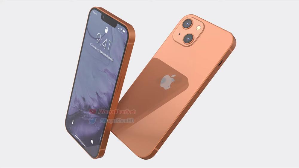 Mê mẩn với loạt iPhone 13 xanh - đỏ - tím - cam, camera xếp chéo đầy lạ lẫm Ảnh 2