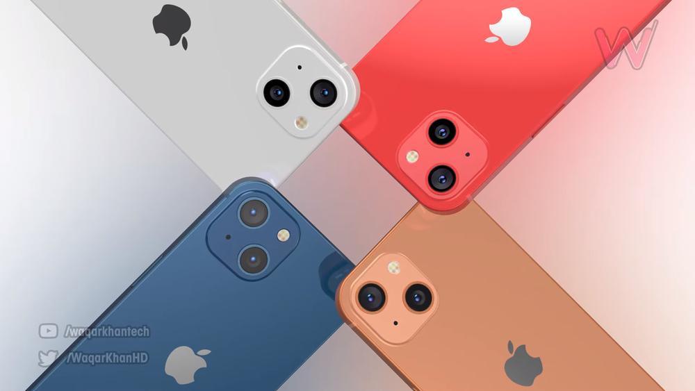 Mê mẩn với loạt iPhone 13 xanh - đỏ - tím - cam, camera xếp chéo đầy lạ lẫm Ảnh 7