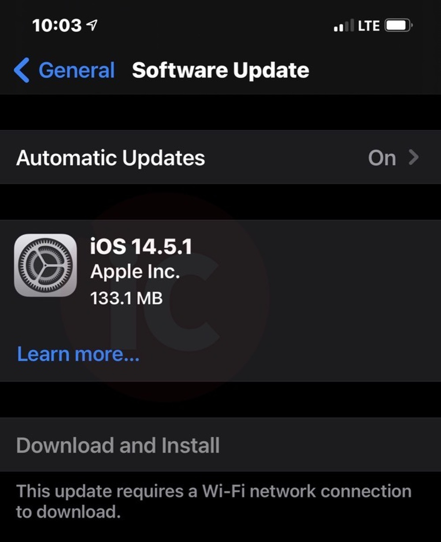 Apple bất ngờ tung iOS 14.5.1, người dùng iPhone cần cập nhật ngay Ảnh 2