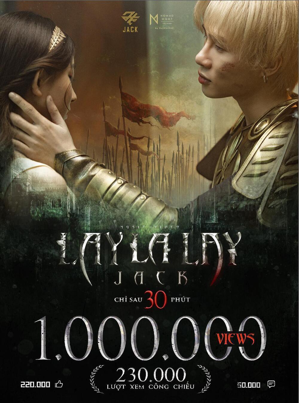 Sinh sau đẻ muộn, 'Muộn rồi mà sao còn' của Sơn Tùng vẫn thừa sức ăn loạt thành tích LAYLALAY từ Jack Ảnh 7