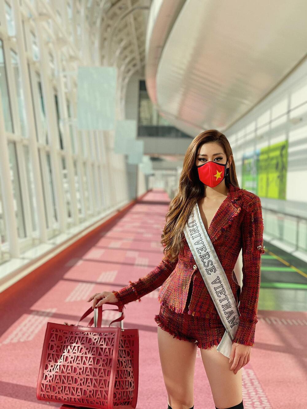 Khánh Vân khiến fan xót xa khi stylist tiết lộ bị giảm cân do hành trình sang Mỹ vất vả Ảnh 8