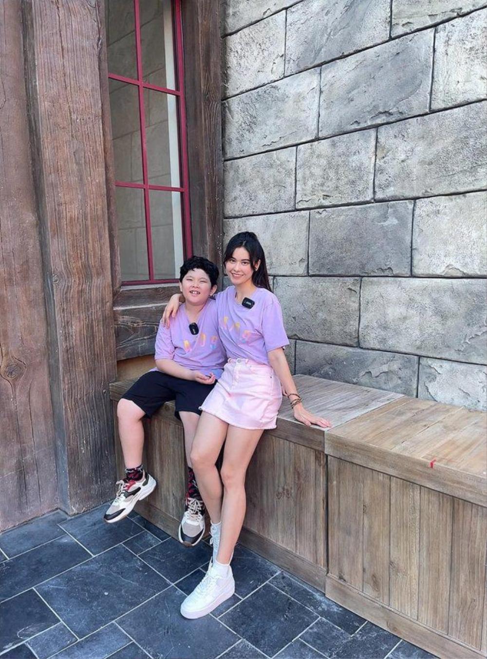 Trương Quỳnh Anh và Tim cùng đưa con đến Phú Quốc, cặp đôi nối lại tình xưa hay gì? Ảnh 3