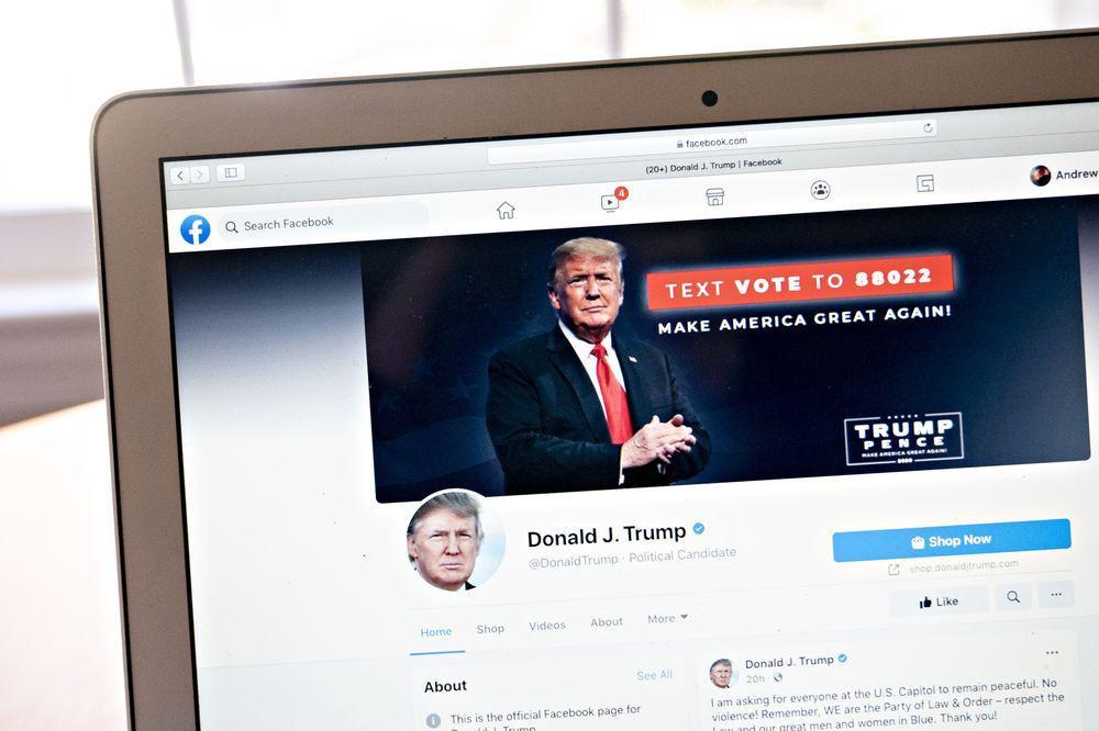 Facebook chốt hạ vẫn 'cấm cửa' cựu Tổng thống Mỹ Donald Trump Ảnh 1