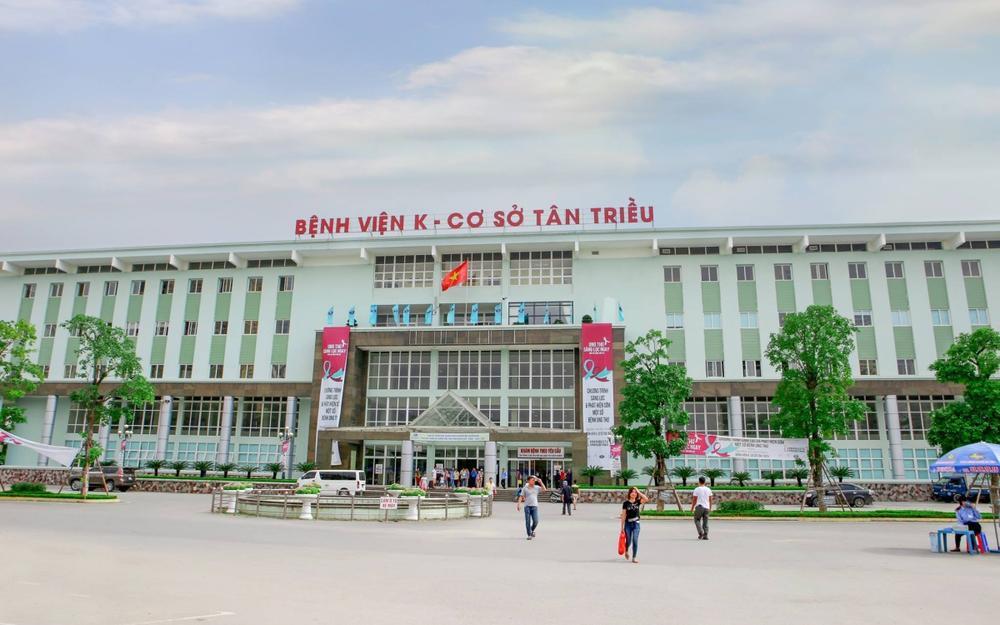 Phong toả Bệnh viện K Trung ương, cơ sở Tân Triều để phòng chống dịch Covid-19 Ảnh 1