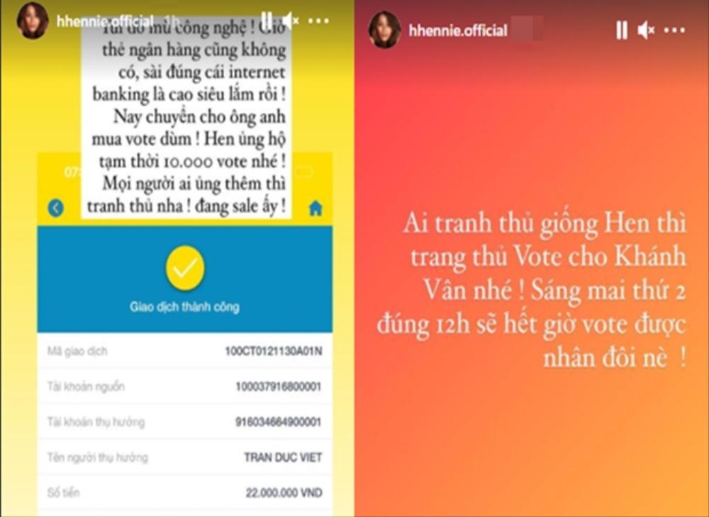 H'Hen Niê mạnh tay chi 20 triệu, Minh Tú ủng hộ 1000 vote để đưa Khánh Vân chắc suất Top 21 Miss Universe Ảnh 3