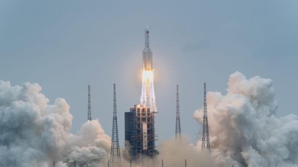 Xác định vị trí mảnh mỡ tên lửa Trung Quốc rơi xuống Trái đất trong hôm nay Ảnh 2