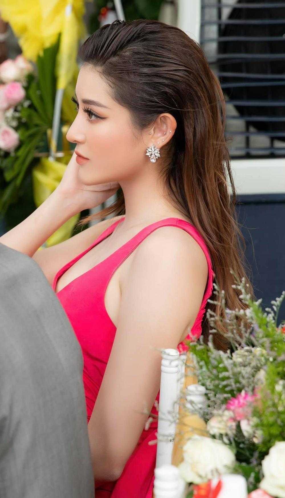 Á hậu Huyền My nền nã với sắc hồng ngọt ngào Ảnh 7