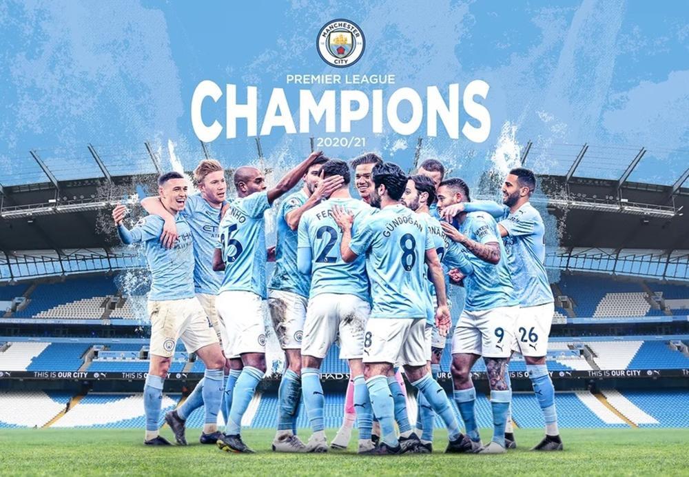 Man City chính thức vô địch Premier League 2020/21 Ảnh 1