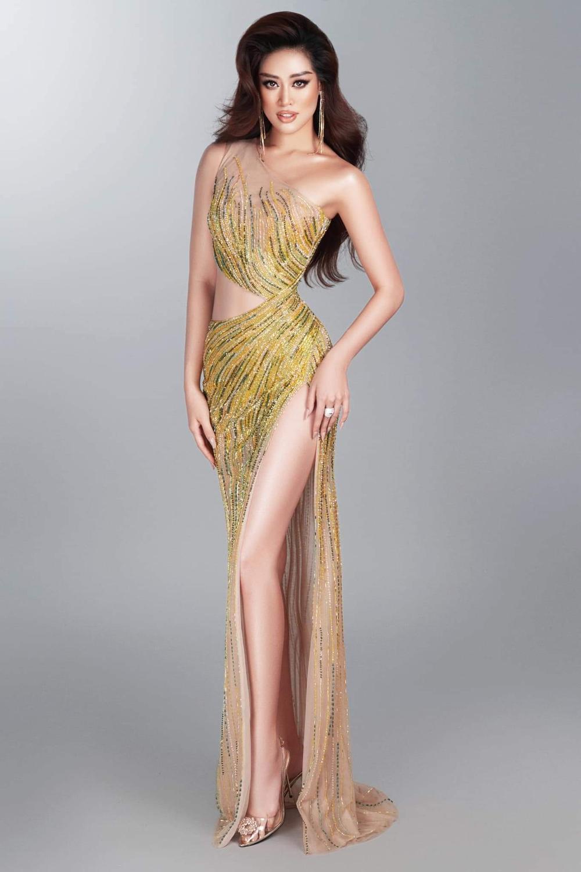 Lộ bản sketch chiếc váy Khánh Vân có thể mặc đêm Bán kết, quả là 'chặt đẹp' cả thiên hạ! Ảnh 3