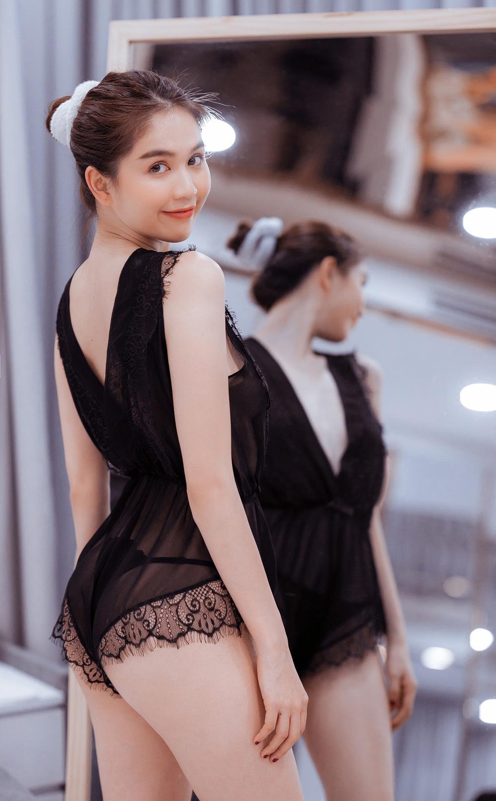 Ngọc Trinh tự tay thiết kế đồ lót, khẳng định thương hiệu 'Nữ hoàng nội y' Ảnh 20